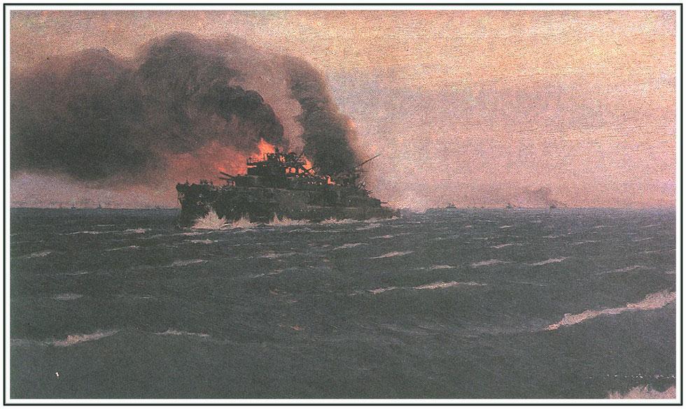 Цусимское морское сражение 01