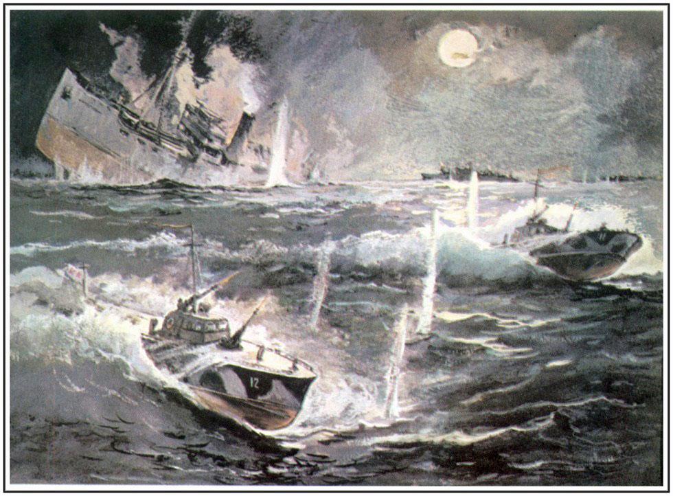 конвой торпедировали подводные лодки