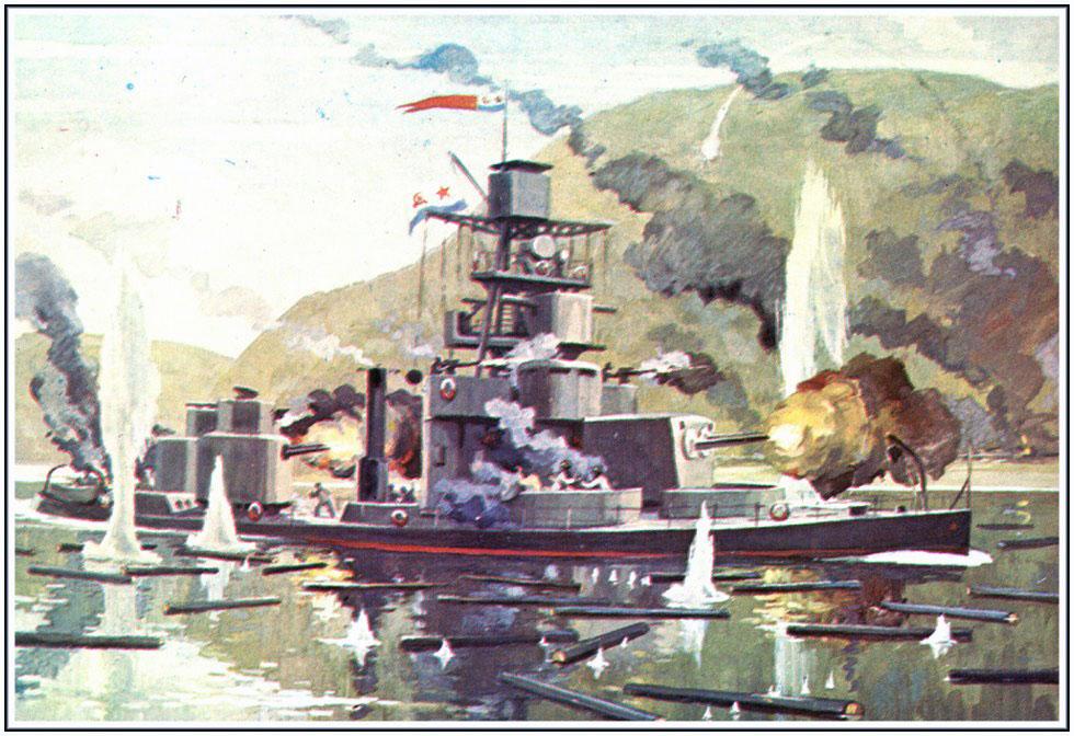 На Черноморском флоте возникает опасность захвата кораблей Германией.