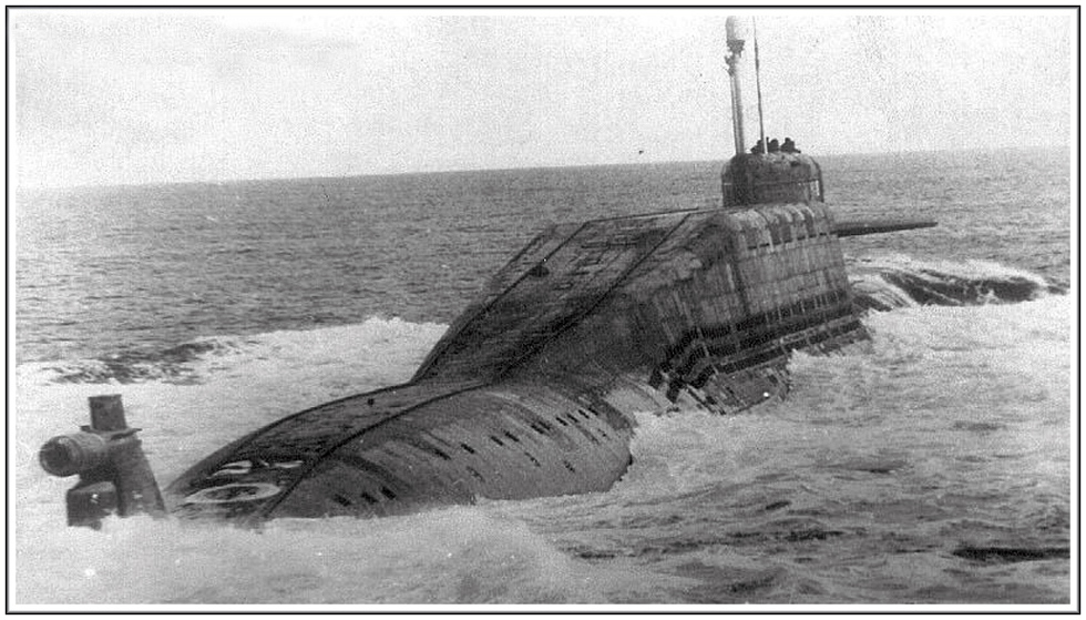 крейсер подводная лодка