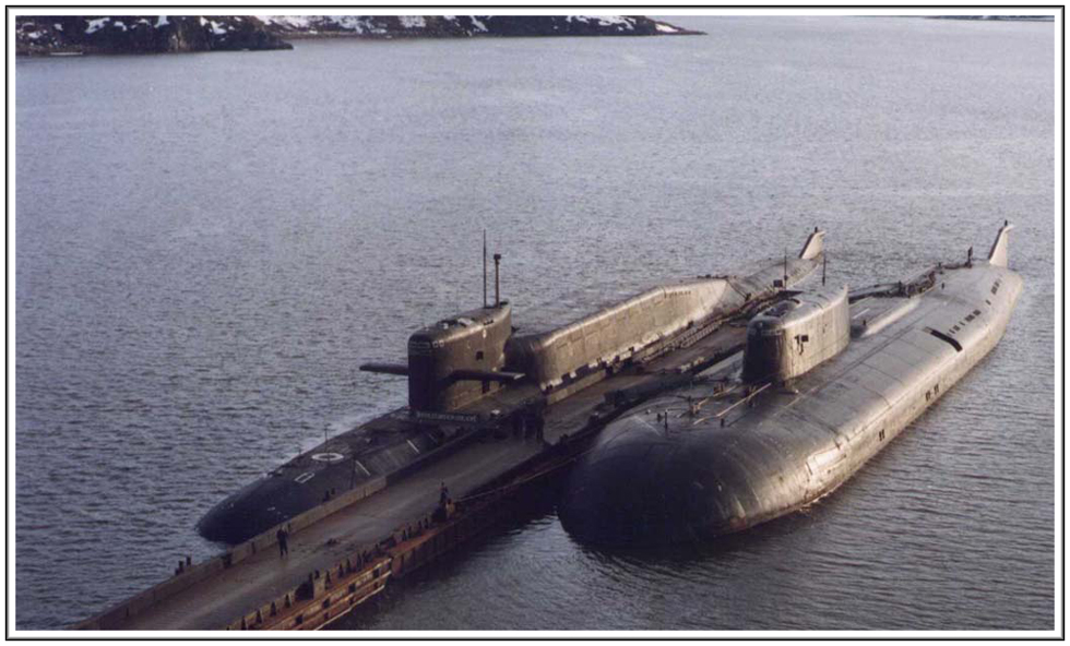 подводная лодка гранит технические характеристики
