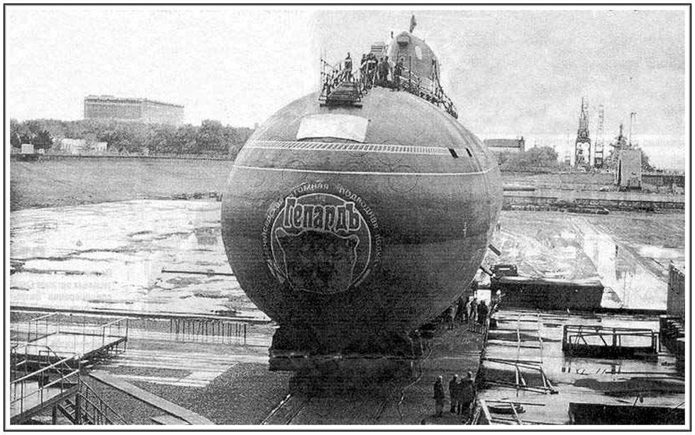 подводная лодка проекта гепард
